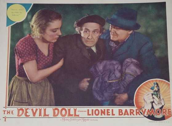 Devil Doll Lobby Card