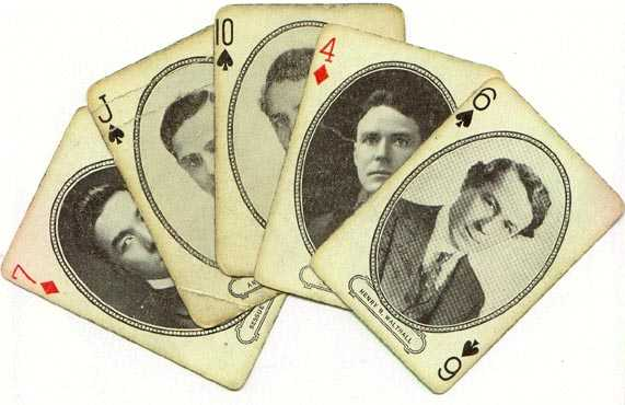 Playing Cards, circa 1916